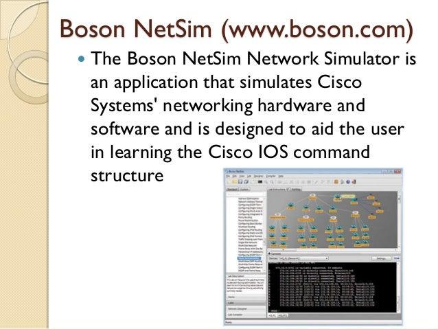 boson netsim free  full version