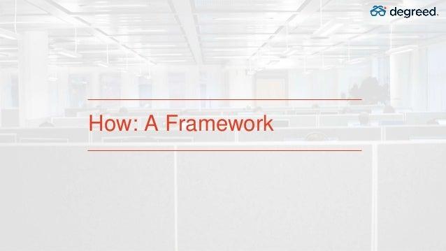 How: A Framework