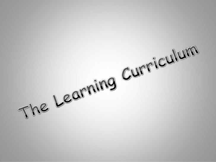 The Learning Paradigm - Barr and Tagg (1995)  ……the 'instructional paradigm' confuses a means (instruction) with an ends (...