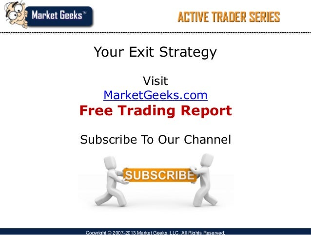 Exit strategy for day trading