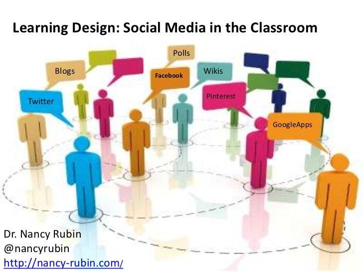 Learning Design: Social Media in the Classroom                               Polls              Blogs       Facebook      ...