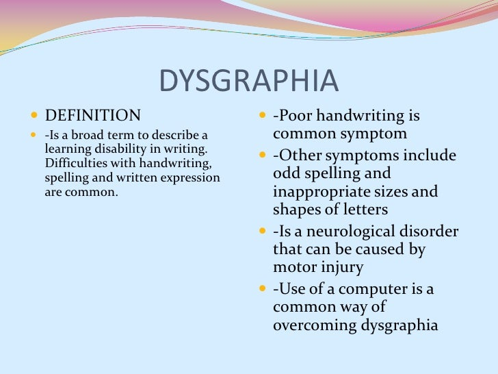 learning disability definitions Specific learning disabilities (sld) is by far the largest category of disability within the individuals for disabilities education act nearly half of all disabled children are labeled in the category of sld.