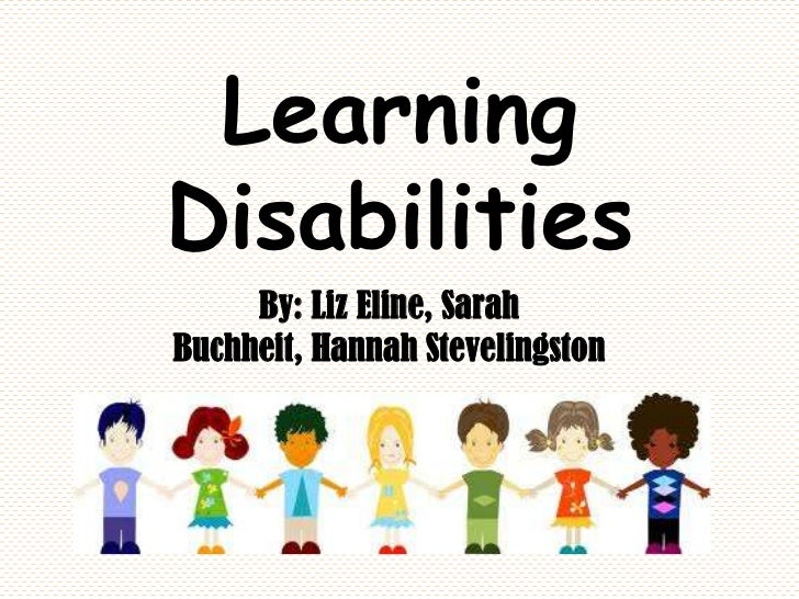 Learning disabilities why self esteem essay