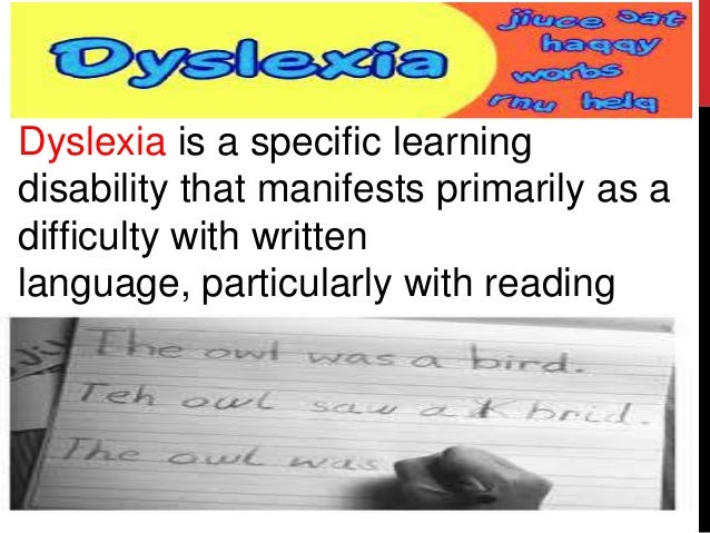 Learning disabilities essay