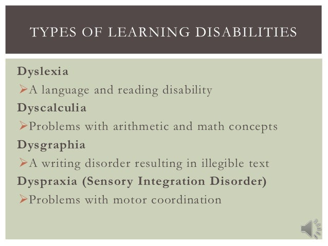 learning disabilities essay Publish your bachelor's or master's thesis, dissertation, term paper or essay   we hypothesized that learning disabilities could negatively affect academic.