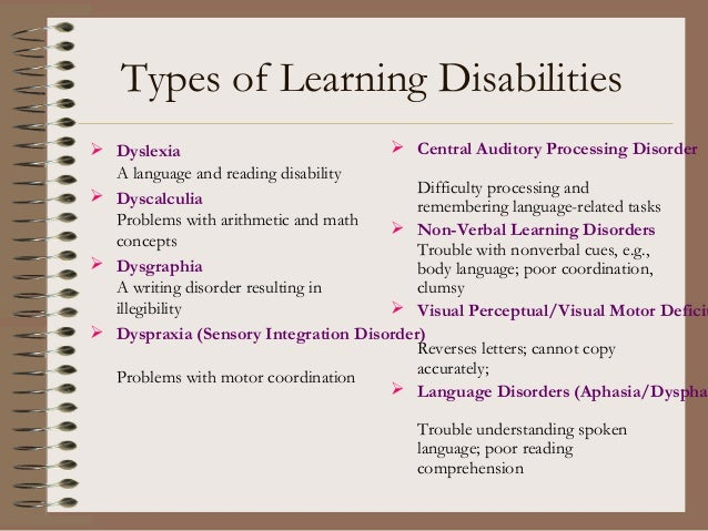 non ñ verbal leaning disability essay Press' development team with learning disability (ld) students  within this  larger ld group there is a unique set of children with non-verbal learning  disabilities (nld)  when writing paragraphs and essays, writing adventures  helps nld.