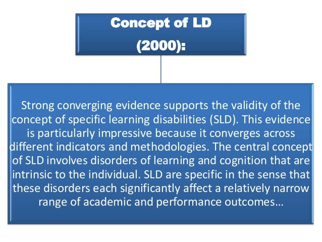 learning disabilities report For example, the percentage of students with disabilities receiving services under idea for specific learning disabilities was lower among asian students (21 percent), students of two or more races (30 percent), and white students (31 percent) than among students overall (34 percent.