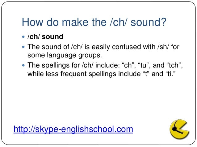 Learning English Pronuciation Of Ch Sh Sound