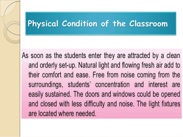 conductive learning environment