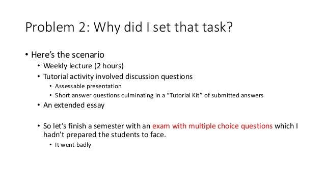 Extended essay tutorial