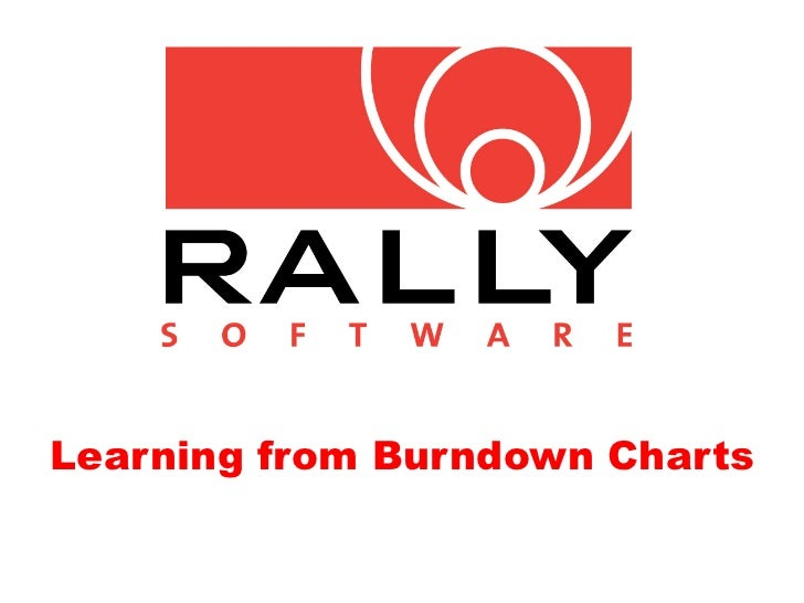 Learning from Burndown Charts
