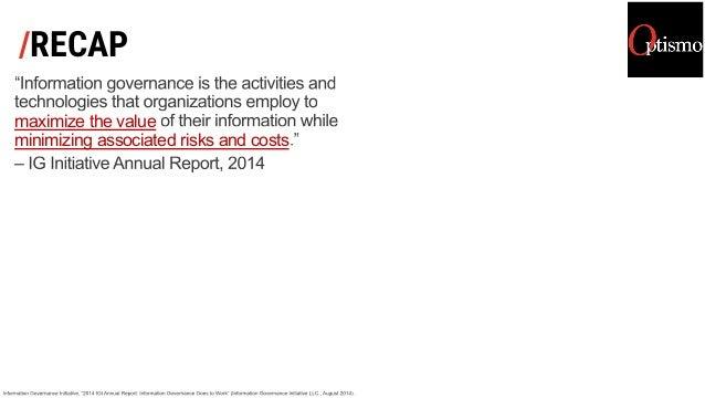 /RECAP maximize the value minimizing associated risks and costs