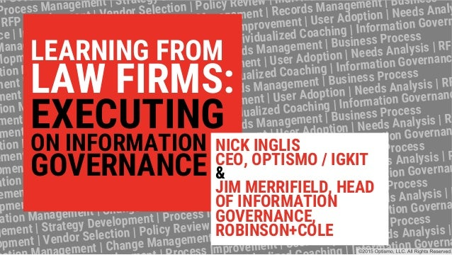 on Gove Process Management | Strategy D RFP Development | Vendor Selection | Policy Review | Individ ce | Information Mana...