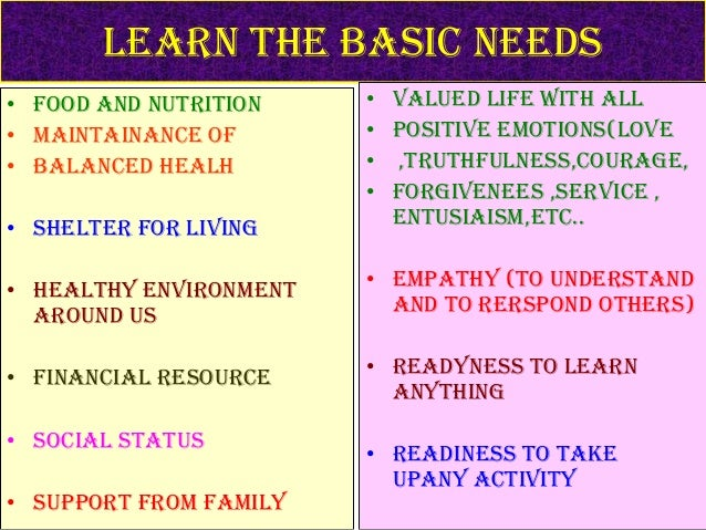 Basic things to learn in ur life - YouTube