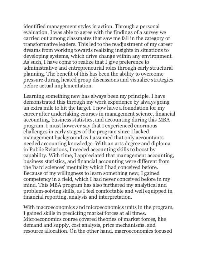 learning journal essay 4 identified