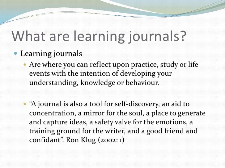 Individual learning journal 2