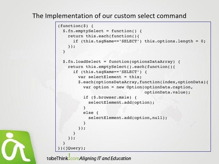 jQuery : Talk to server with Ajax
