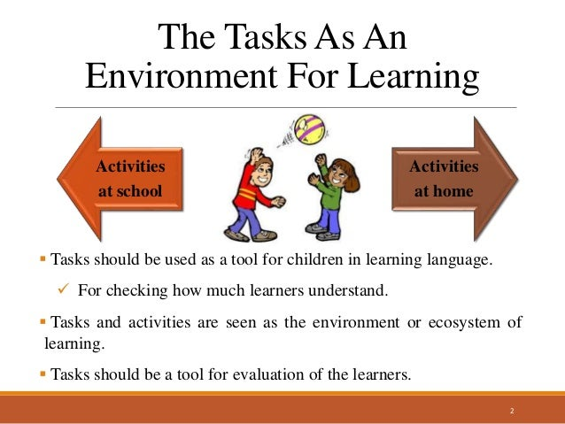 Language Learning Through Tasks & Activities