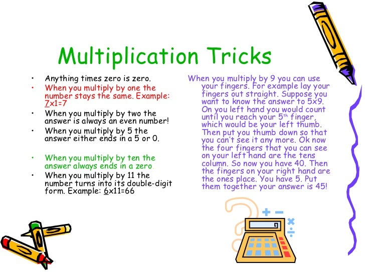 Tricks on multiplication popflyboys for 11 times table trick