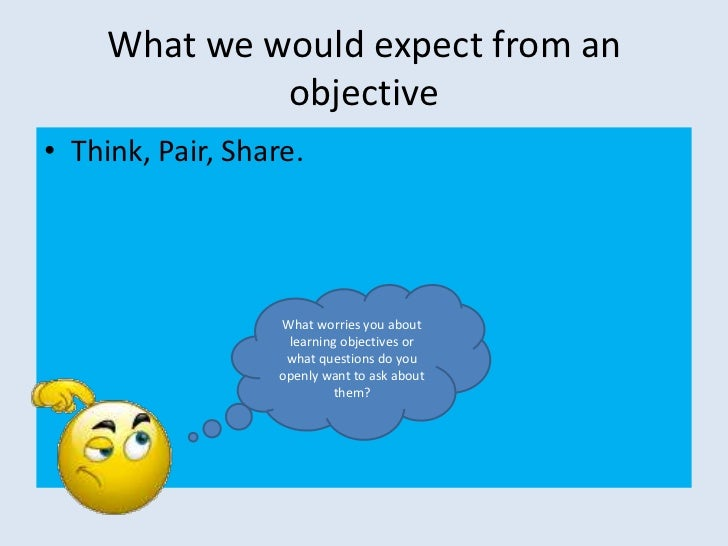 writing learning objectives powerpoint