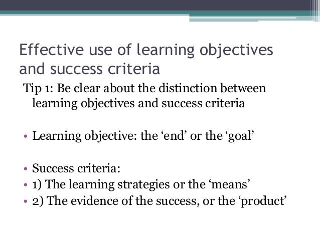 Guidelines for writing program outcomes