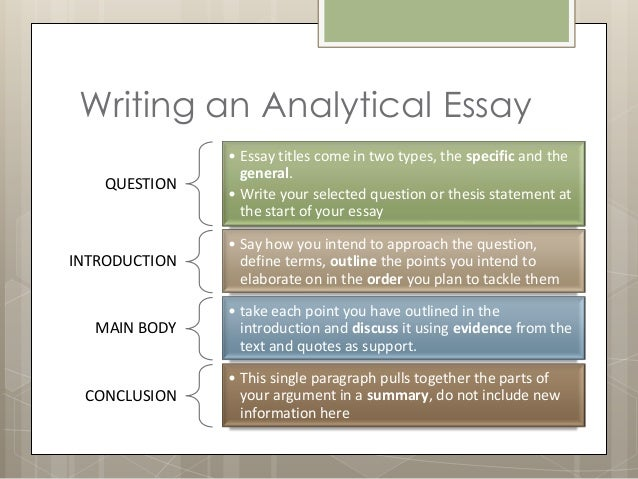 Examples of a Narrative essay