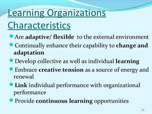 learning in an organization Action learning is a learning and problem-solving strategy for organizations, whether commercial, government or non-profit the focus is to increase employees learning capacity within an organization while responding to a real world challenge in a cross-departmental team.