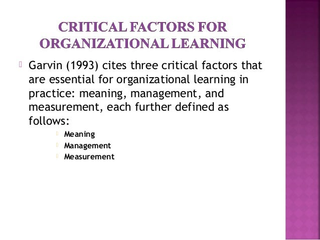 change management learning organization Change management is a broad discipline that involves ensuring that change is implemented smoothly and with lasting benefits, by considering its wider impact on the organization and people within it each change initiative you manage or encounter will have its own unique set of objectives and activities, all of which must be coordinated.