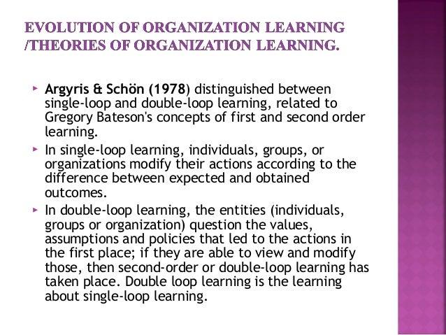 The learning organization Change Management