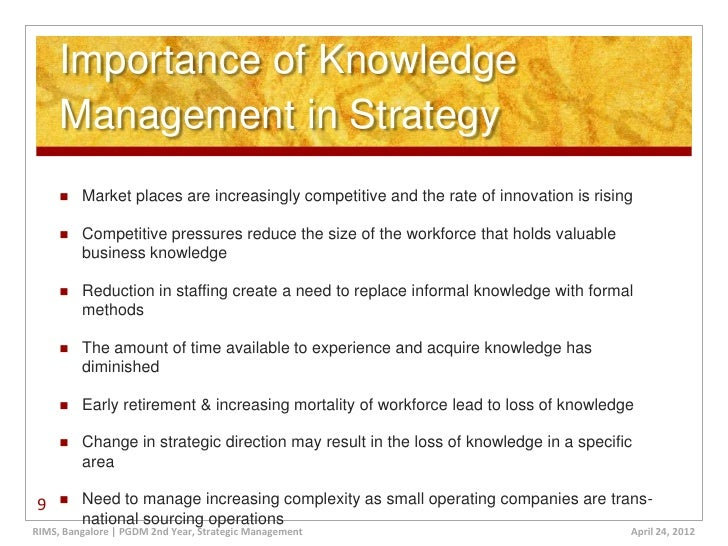 strategies for learning organisation