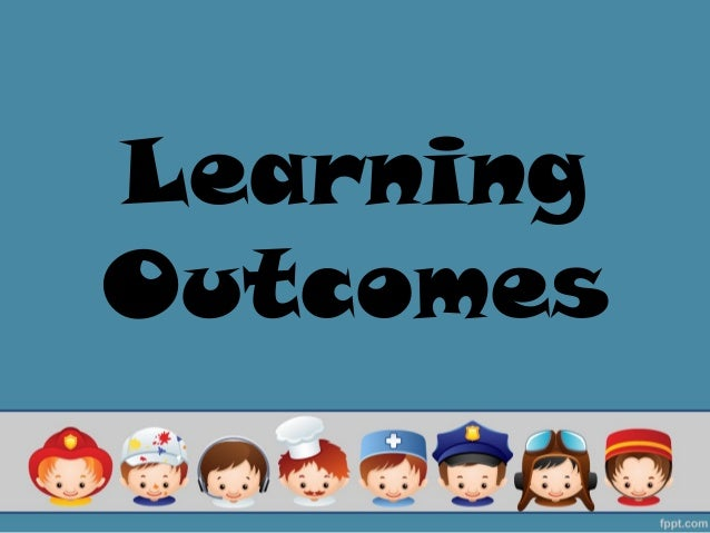 LearningOutcomes