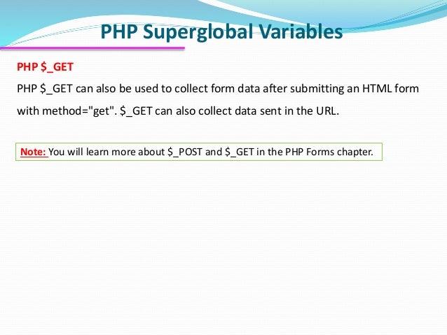 Web Development Course: PHP lecture 1