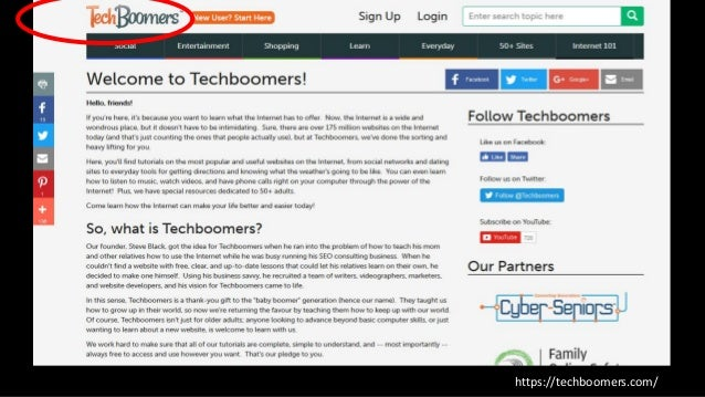 Techboomers Course List