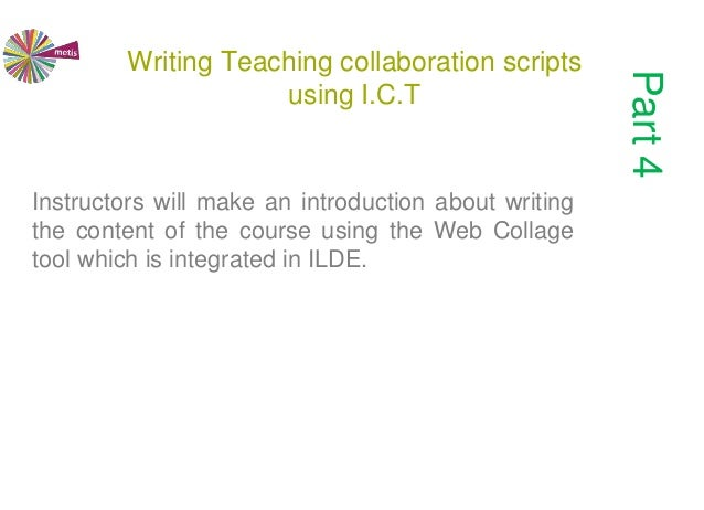 Teaching Collaborative Journalism ~ Collaborative design of teaching scenarios