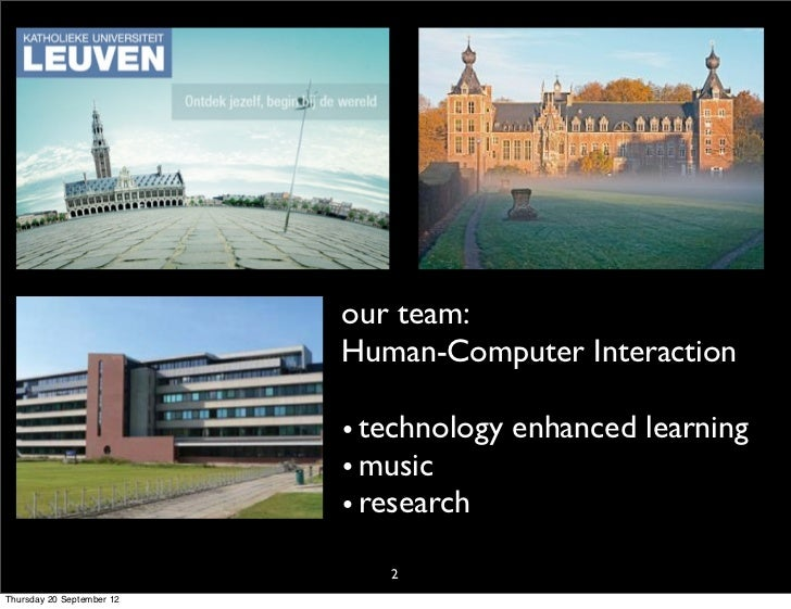 Learning Analytics & Learnscapes. Slide 2