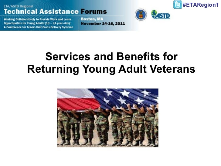 Services and Benefits for Returning Young Adult Veterans