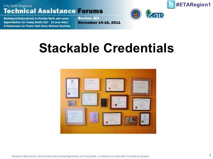 Stackable Credentials