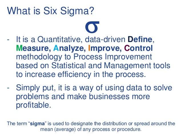 learning six sigma