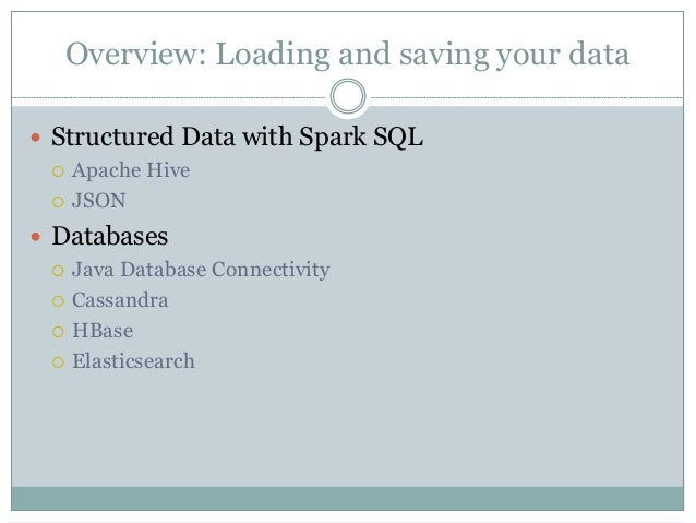 Learning spark ch05 - Loading and Saving Your Data
