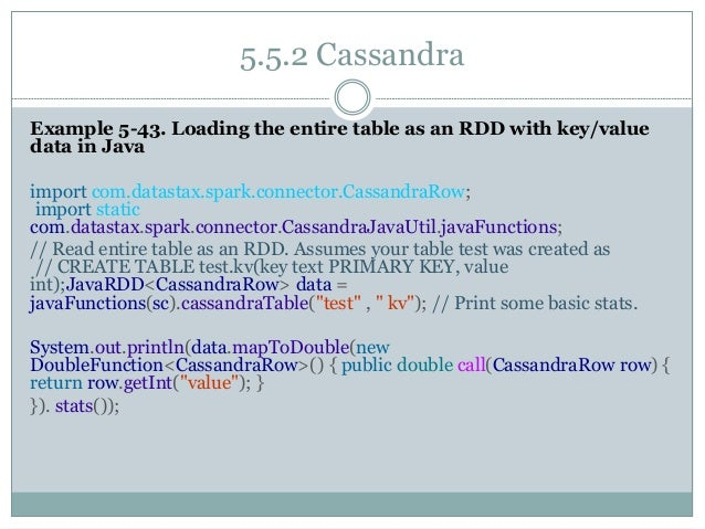 how to read entire table spark cassandra
