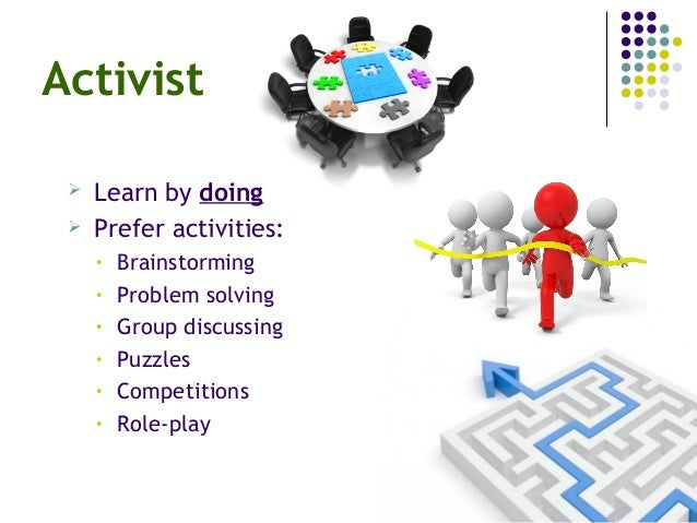 activist reflector theorist and pragmatist The terms 'activist', 'reflector', 'theorist', and 'pragmatist' are often used to represent the four key stages (or learning steps) in kolb's model of personality.