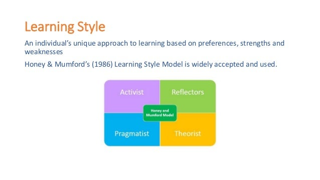 identifying your learning style 2015-12-9 your actions might be a clue to your learning style  and learning style use the handout, learning styles and  examples without identifying the.