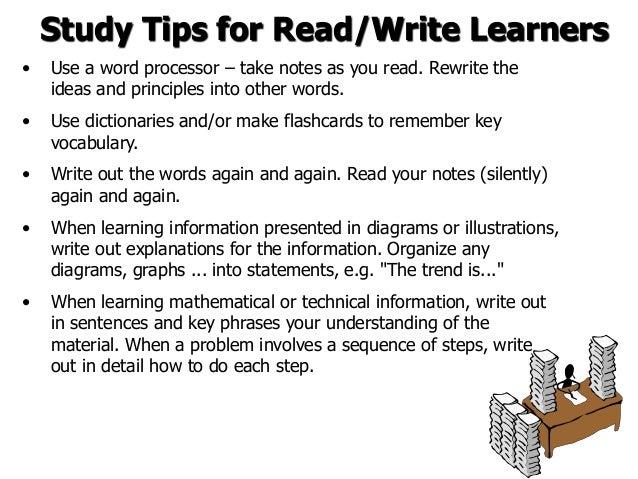 Learning strategies essay
