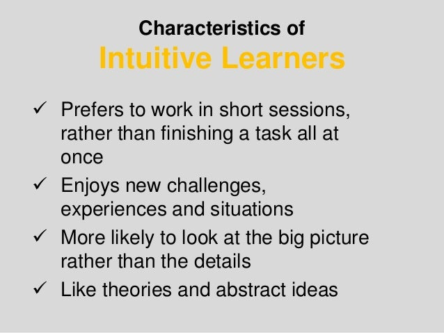 learning styles based on jung s theory of personality