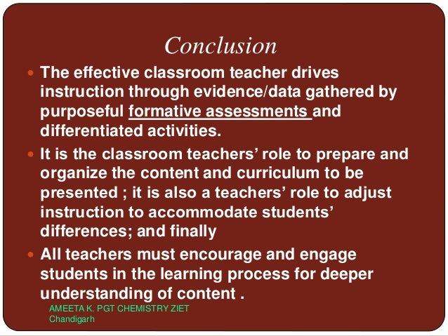 Deeper Learning A Collaborative Classroom Is Key : Learning styles basis of formative assesment
