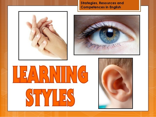 Strategies, Resources andCompetences in English