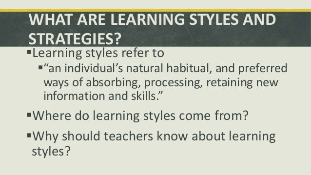 preferred teaching strategies If this is your preferred style of teaching, you might want to consider taking   teaching strategies like encouraging students to be entrepreneurs.