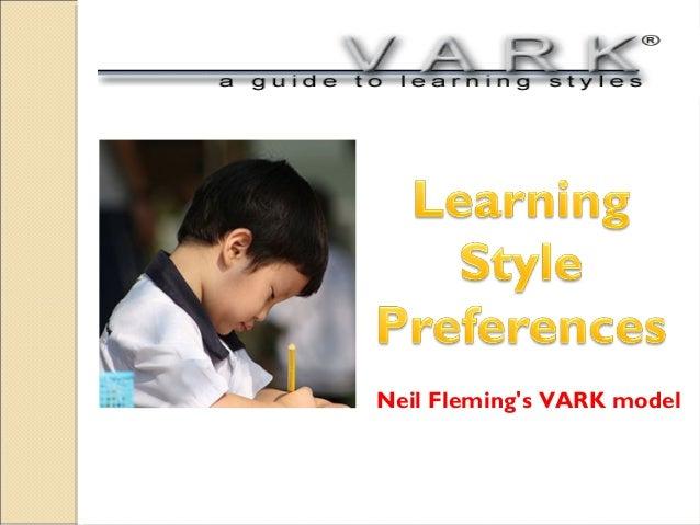 Neil Fleming's VARK model