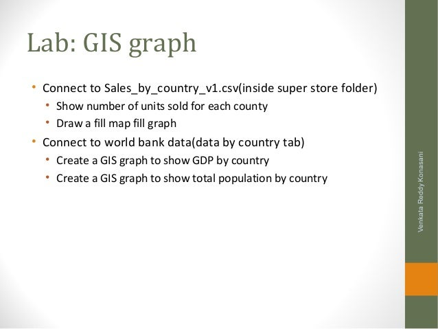Learning Tableau - Data, Graphs, Filters, Dashboards and