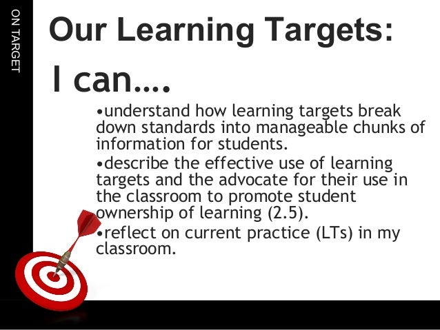 5th grade ela learning target and success criteria by meiercreations.
